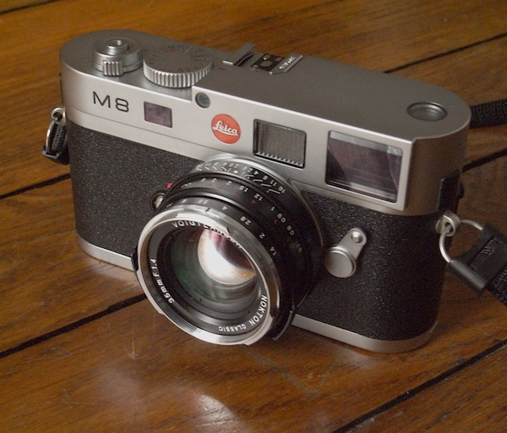 Mon M8 et son Voigtlander Nokton 35 mm f1.4 MC